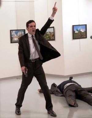 'Un asesinato en Turquía', la imagen ganadora del concurso.